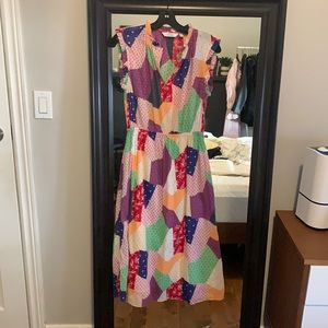 & Other Stories Patchwork Dress